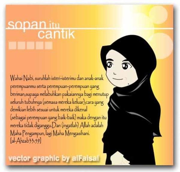 wallpaper muslimah kartun. islami Wanita+muslimah